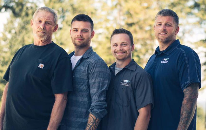 All County Plumbing Family Owners